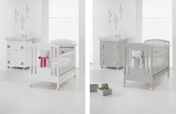 Erbesi (RU) Детская кроватка Bubu от итальянского бренда Erbesi