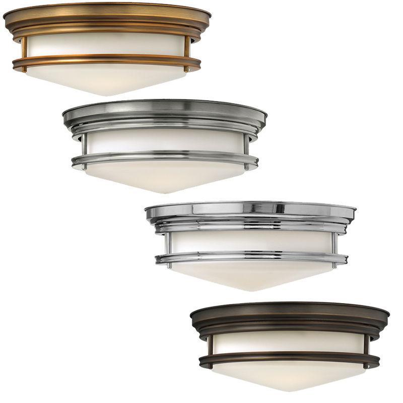 Hinkley (Elstead) Потолочный светильник Hadley 3Lt Flush