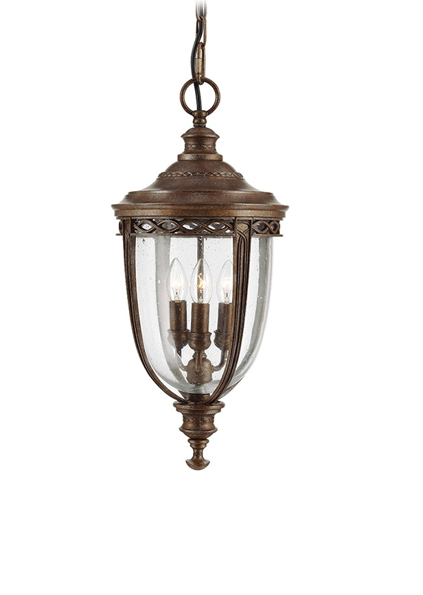 Feiss (Elstead) Подвесной светильник English Bridle 3Lt Chain Lantern