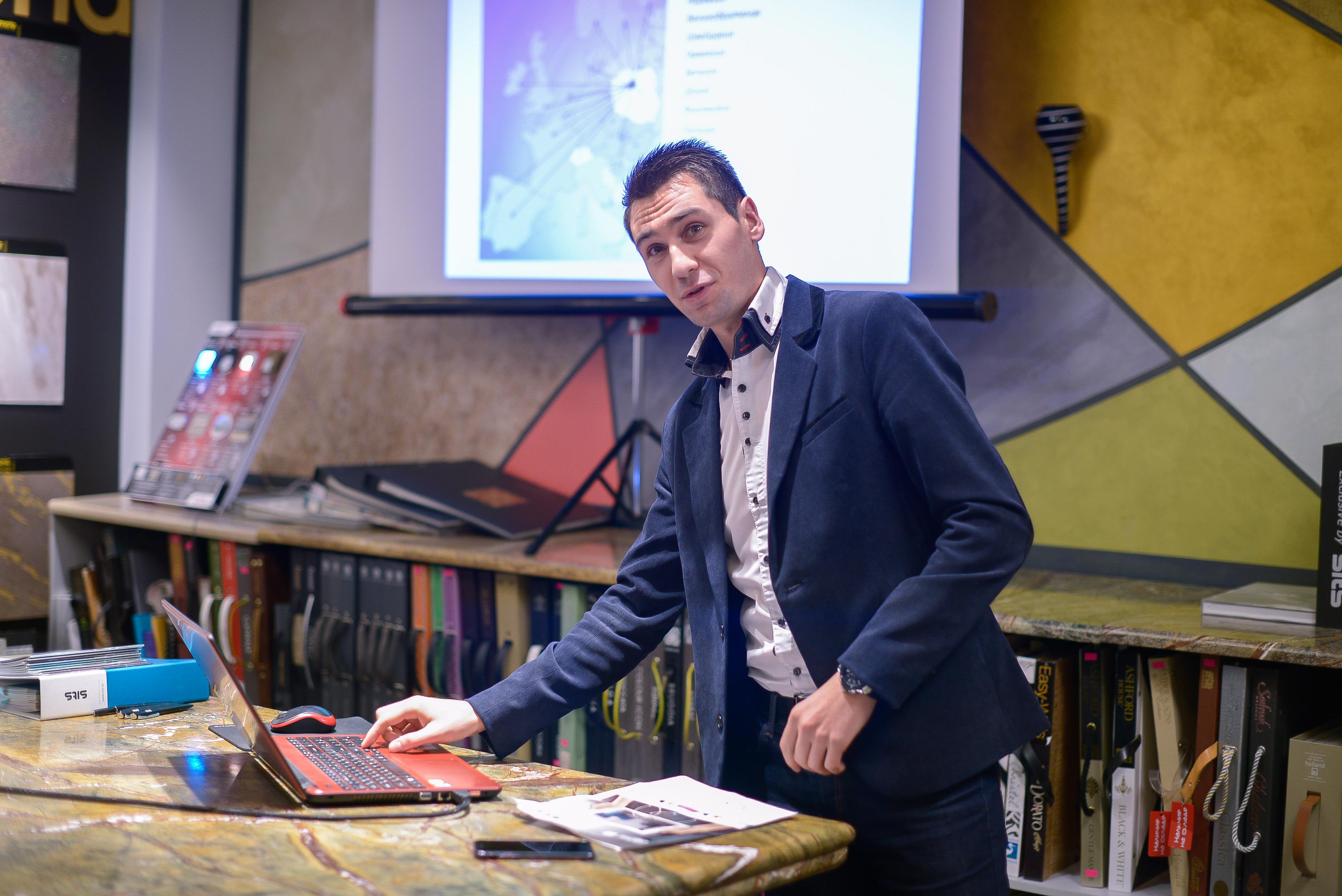 Презентация для дизайнеров в салоне ENRE, июнь 2013
