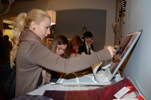 Презентация для дизайнеров в салоне ENRE, декабрь 2012