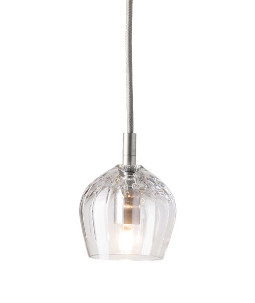 EBB&FLOW Подвесной светильник Cognac crystal lamp