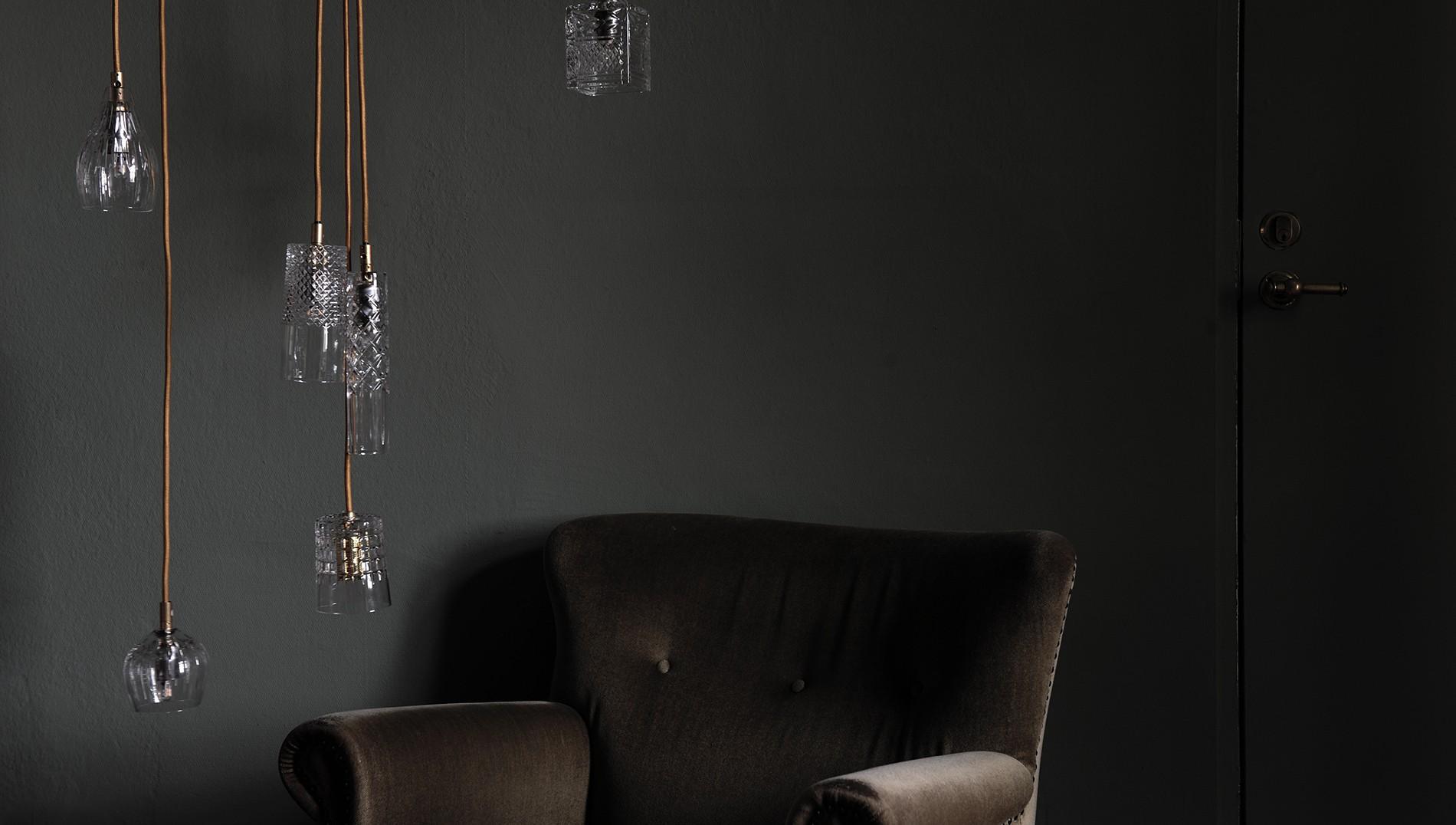 EBB&FLOW Подвесной светильник Jeeves crystal lamp