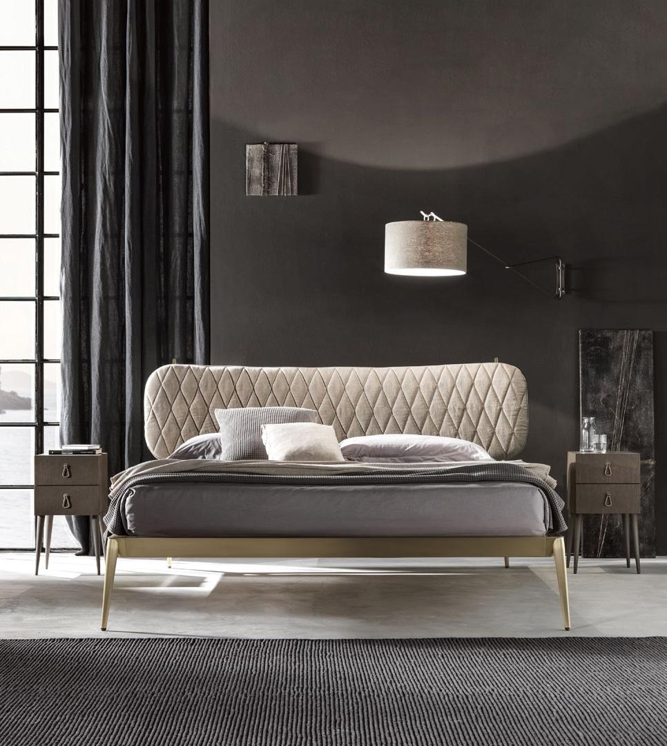 Cantori Кровать  Urbino stuffed