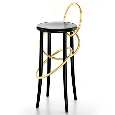 Барный стул Cirque от Gerbruder Thonet Vienna