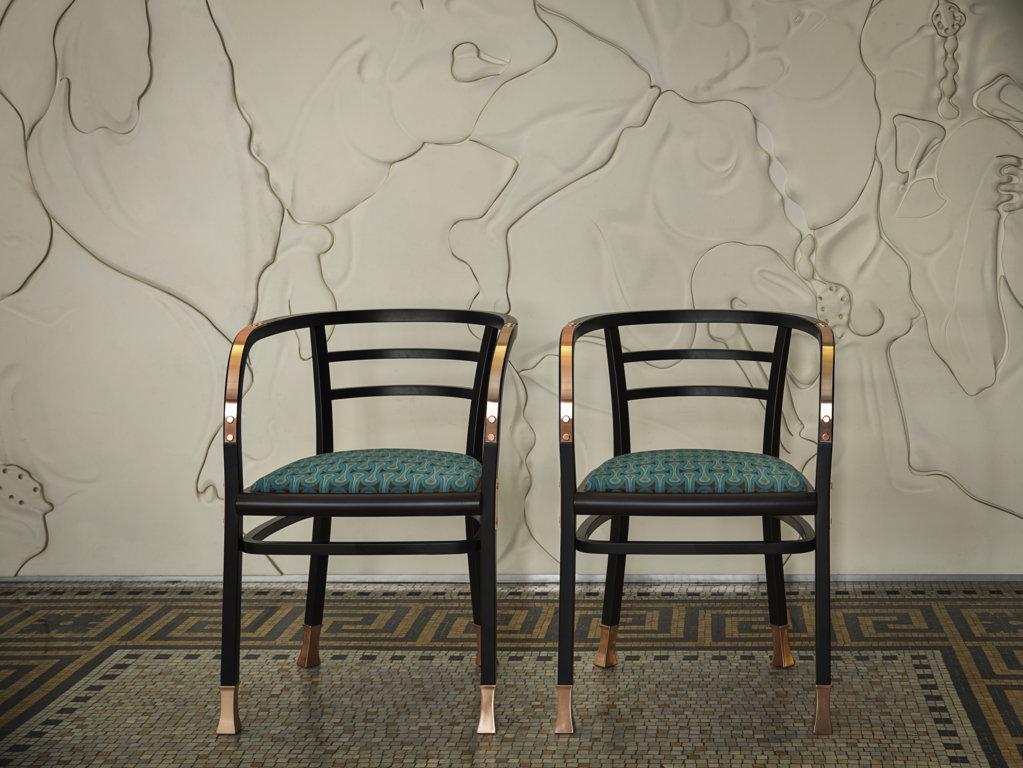 Gebrüder Thonet Vienna Обеденный стул «Postsparkasse Poltroncina»