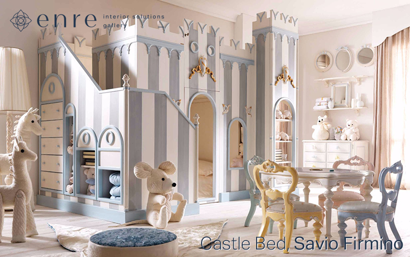 Интерьер детской спальни для двух деток