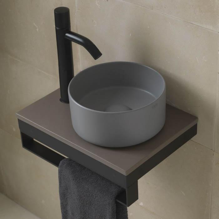 Ceramica Cielo Раковина Shui Comfort — Minimo round washbasin