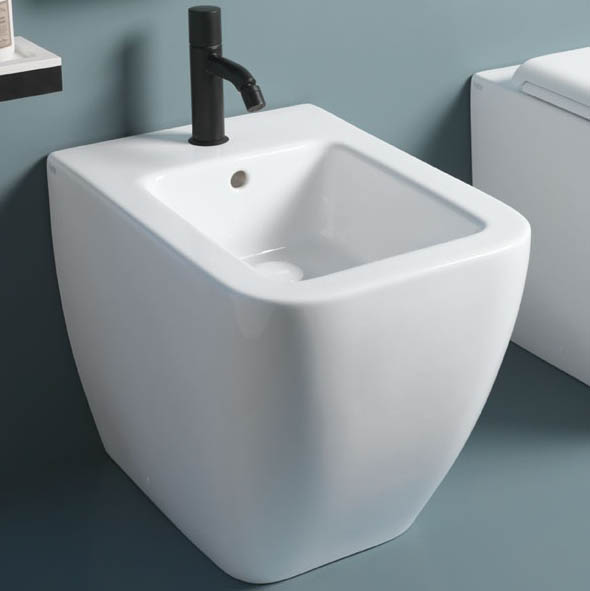 Ceramica Cielo Биде Shui Comfort — Back to wall one hole bidet
