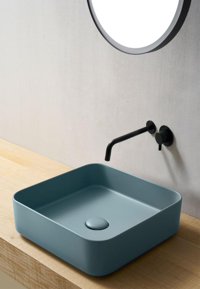Ceramica Cielo Раковина Shui Comfort — Square washbasin 40