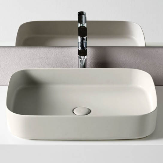 Ceramica Cielo Раковина Shui Comfort — Rectangular washbasin 60×40