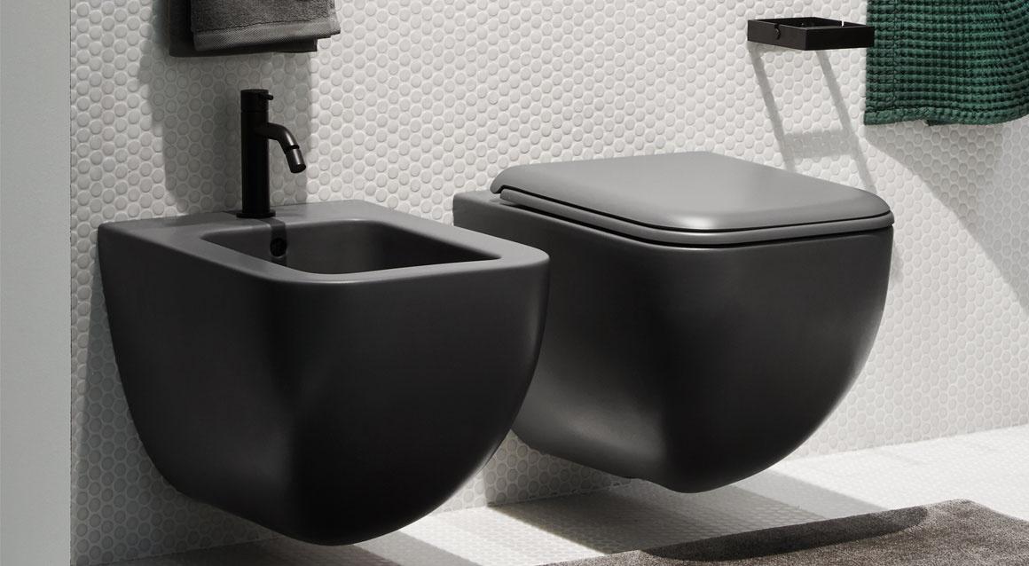 Ceramica Cielo Унитаз Shui Comfort — Wall-hung RIMLESS