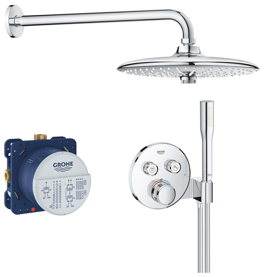 Grohe Душевая система Grohe SmartControl Grotherm 34744000