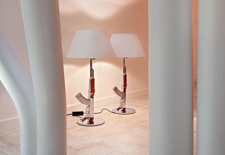 Flos Настольная лампа Flos Guns Table Gun (F2954057)