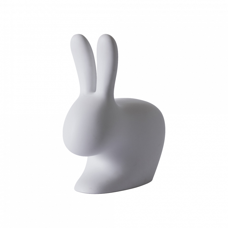 Qeeboo Стульчик Rabbit Chair — Qeeboo. Цвет — Grey