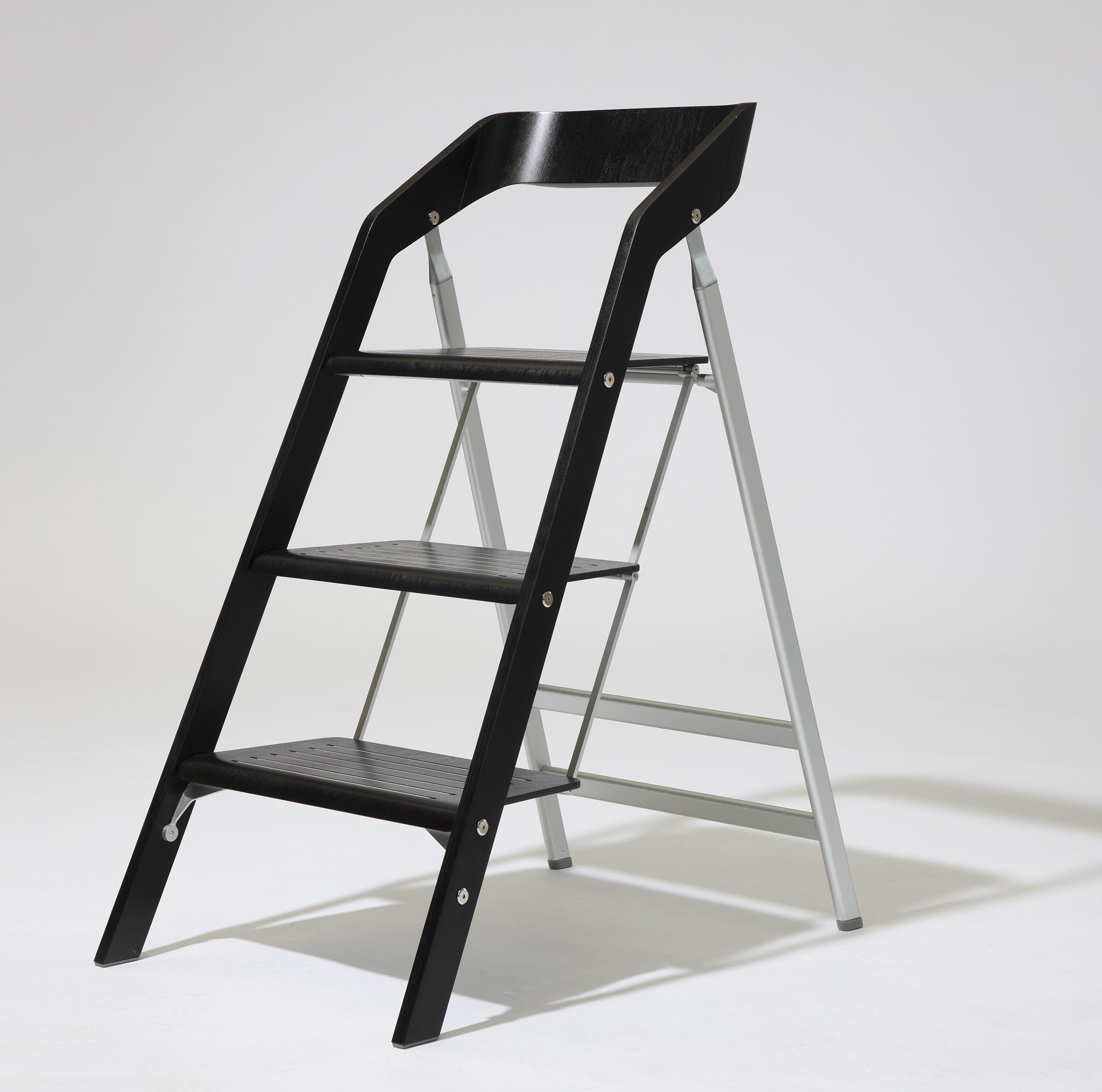 USIT Трехступенчатая лестница-стул USIT 3 STEP BLACK