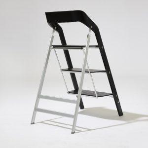 Трехступенчатая лестница-стул USIT 3 STEP BLACK