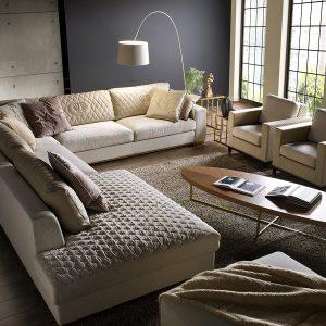Модульный диван Parioli от итальянского бренда Formerin