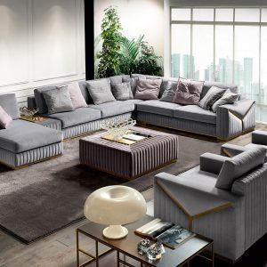 Модульный диван Tivoli от итальянского бренда Formerin