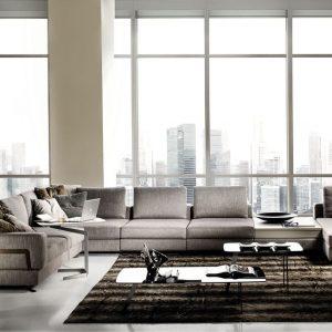Модульный диван Fellini от итальянского бренда Formerin