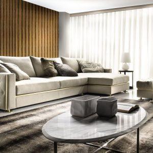 Модульный диван Manfredi от итальянского бренда Formerin