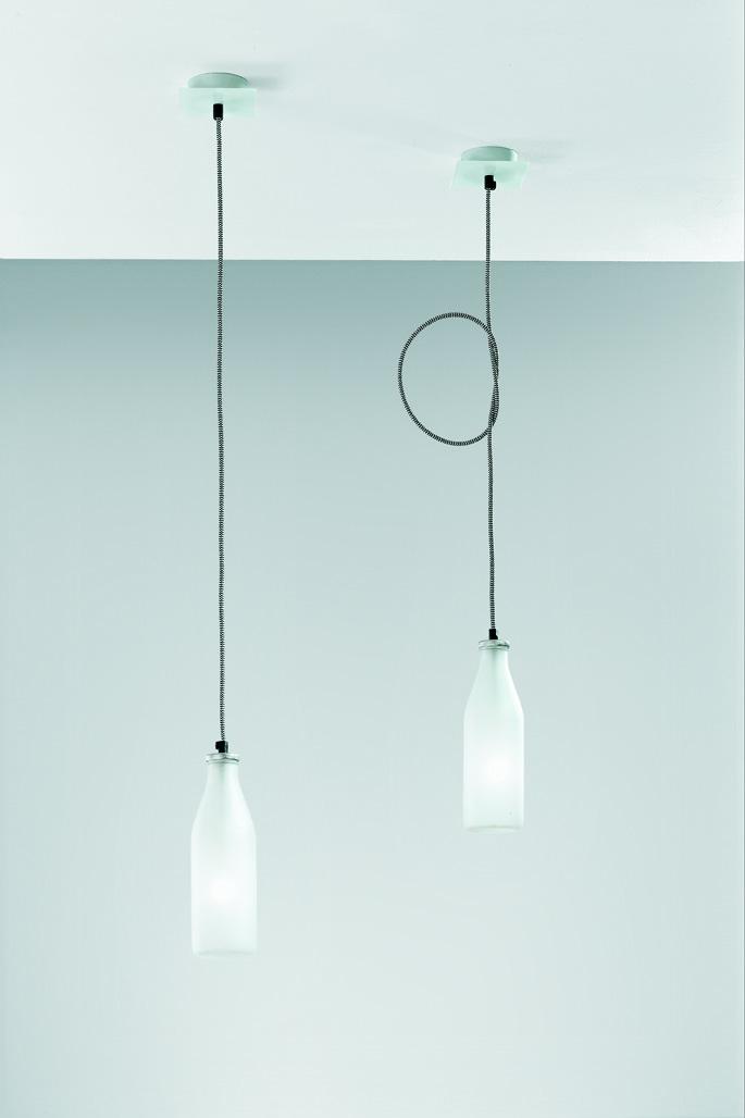 Vesoi Подвесной светильник Idea Bottle от итальянского бренда  Vesoi