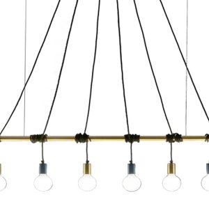 Подвесной светильник Idea Barra от итальянского бренда Vesoi