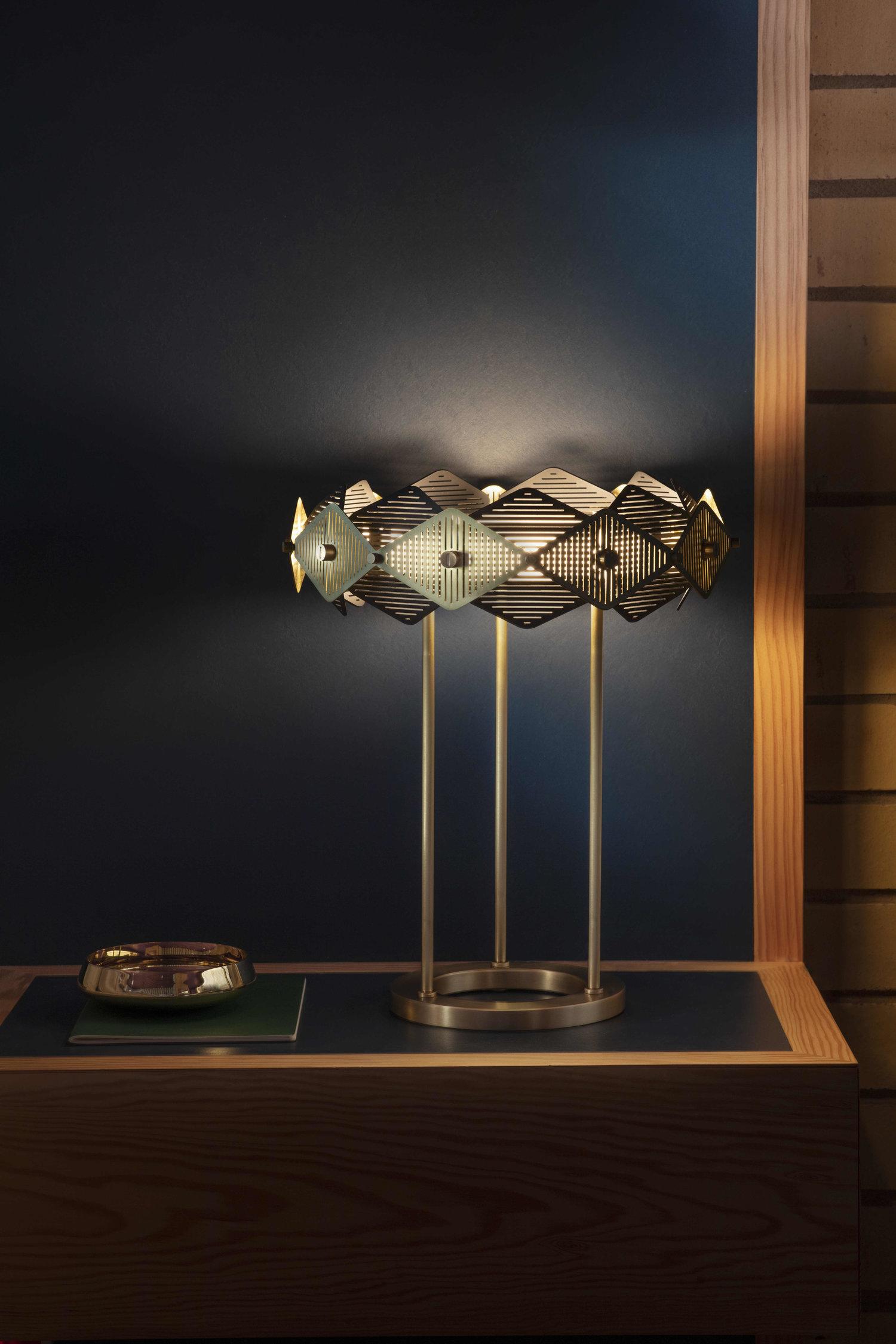 Bertfrank Настольная лампа Rote от британского бренда Bert Frank