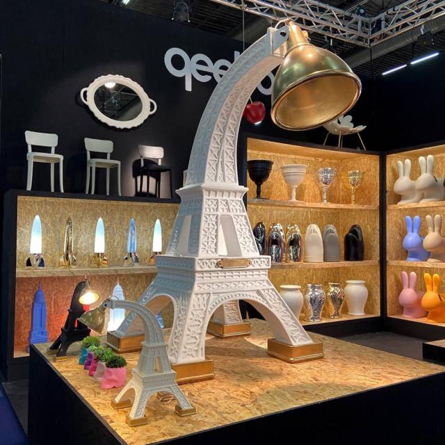 Qeeboo (RU) Торшер Paris XL от итальянского бренда Qeeboo