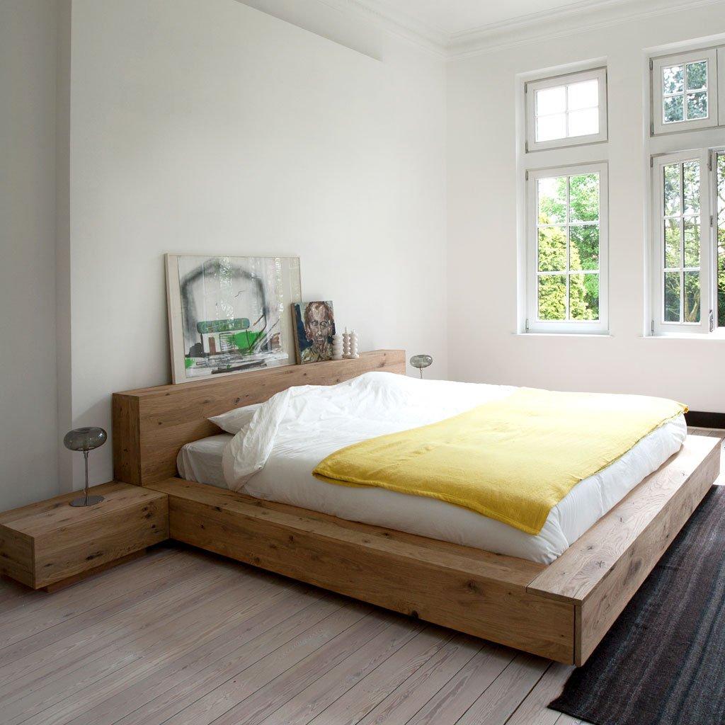 Ethnicraft (RU) Кровать Madra от бельгийского бренда Ethnicraft