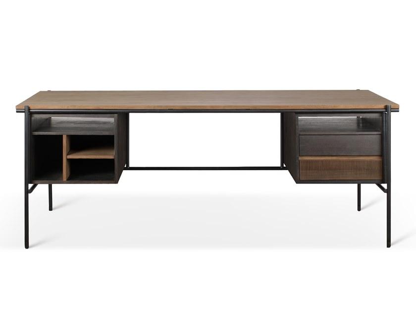 Письменный стол Oskar от бельгийского бренда Ethnicraft