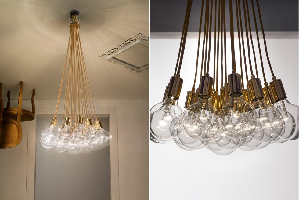 Подвесной светильник e19 от итальянского бренда  Vesoi