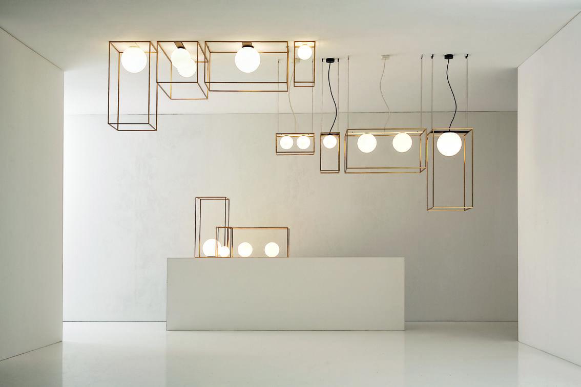 Подвесной светильник Multiplo от итальянского бренда Vesoi
