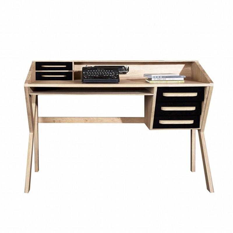 Ethnicraft (RU) Письменный стол Origami от бельгийского бренд Ethnicraft