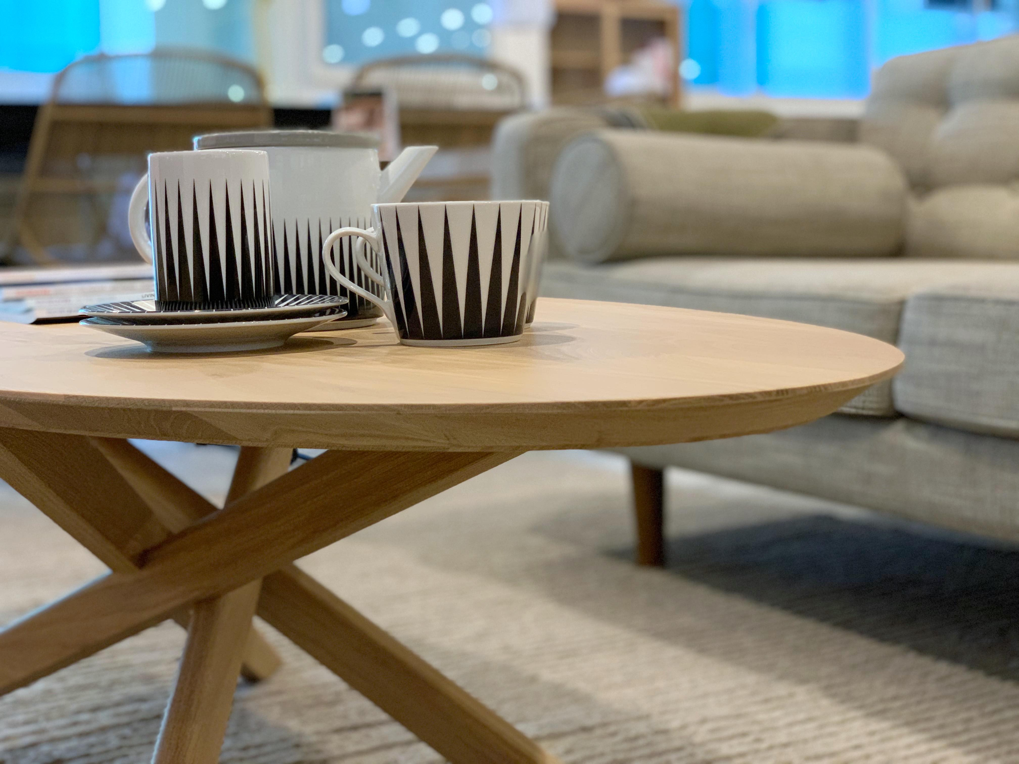 Ethnicraft (RU) Кофейный столик Oak Mikado от  Ethnicraft