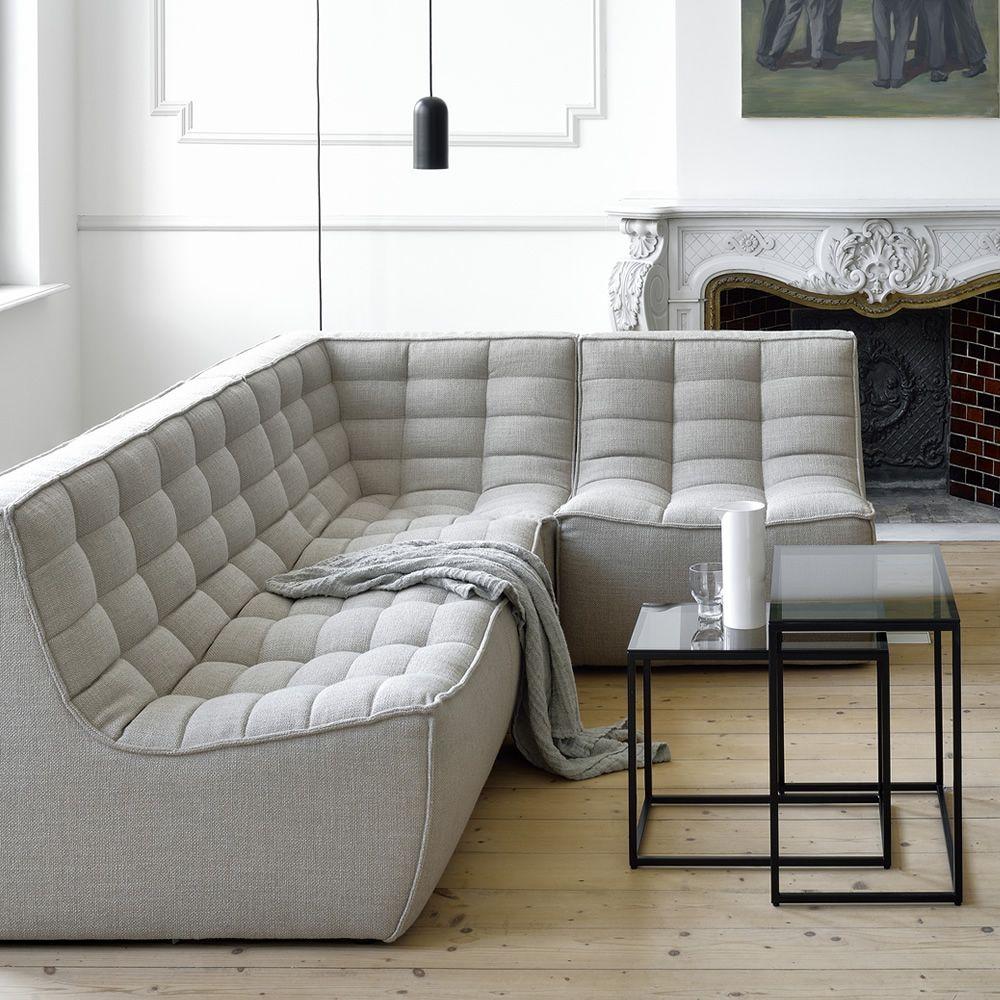 Ethnicraft (RU) Модульный диван N701 от Ethnicraft
