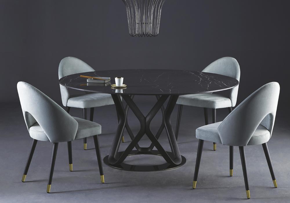 Colico Обеденный стул Diana F от итальянского бренда Colico