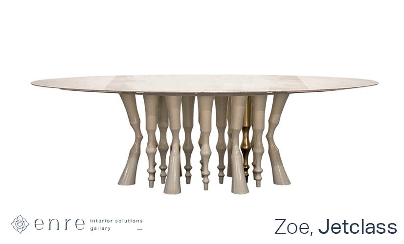 Стройные ножки обеденных столов