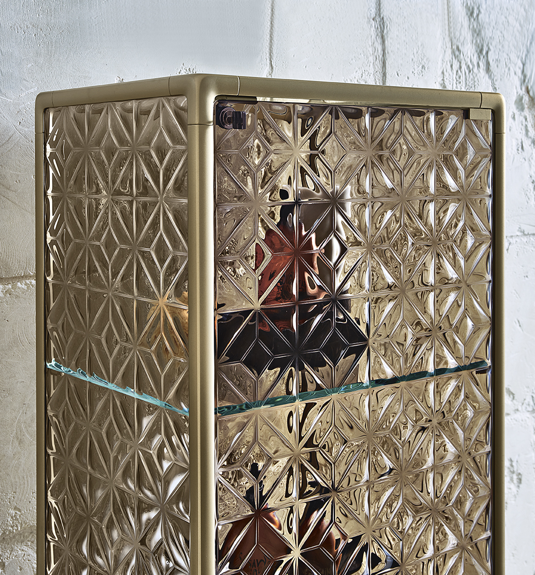 Fiam Однодверная витрина Echo от итальянского бренда Fiam Italia