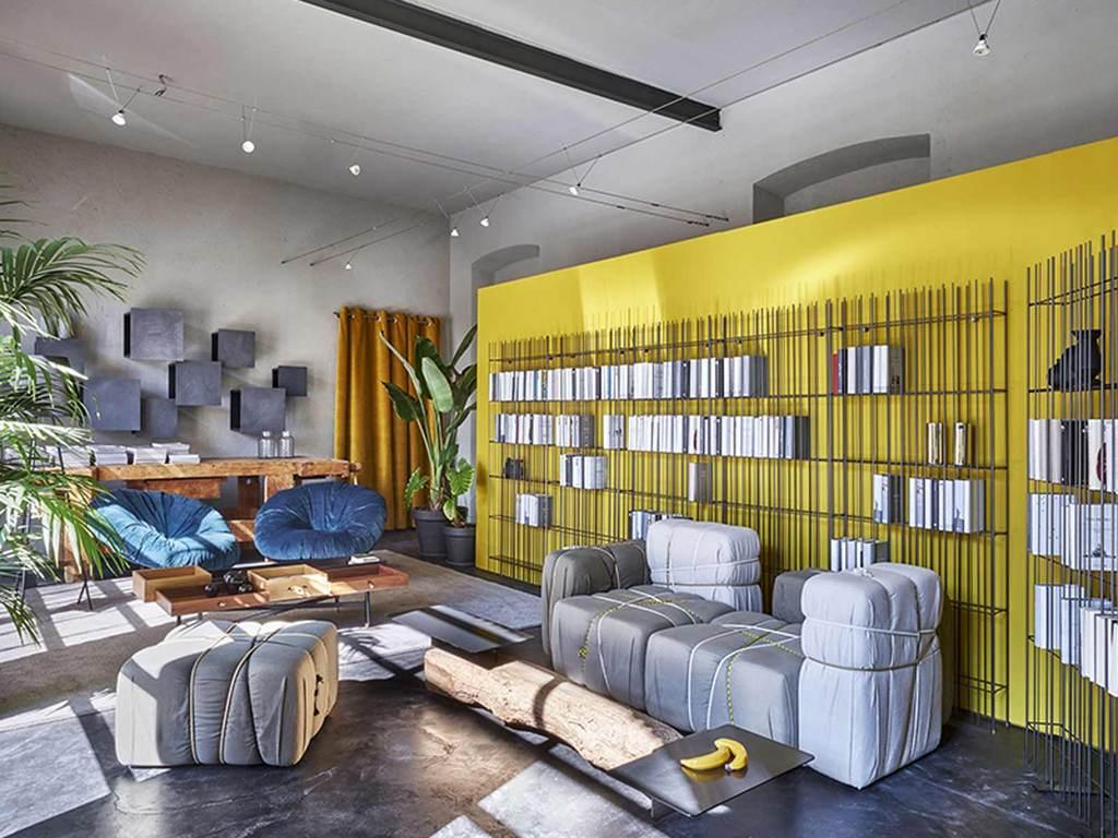 Mogg (RU) Модульный диван Contropakko от итальянского бреда Mogg