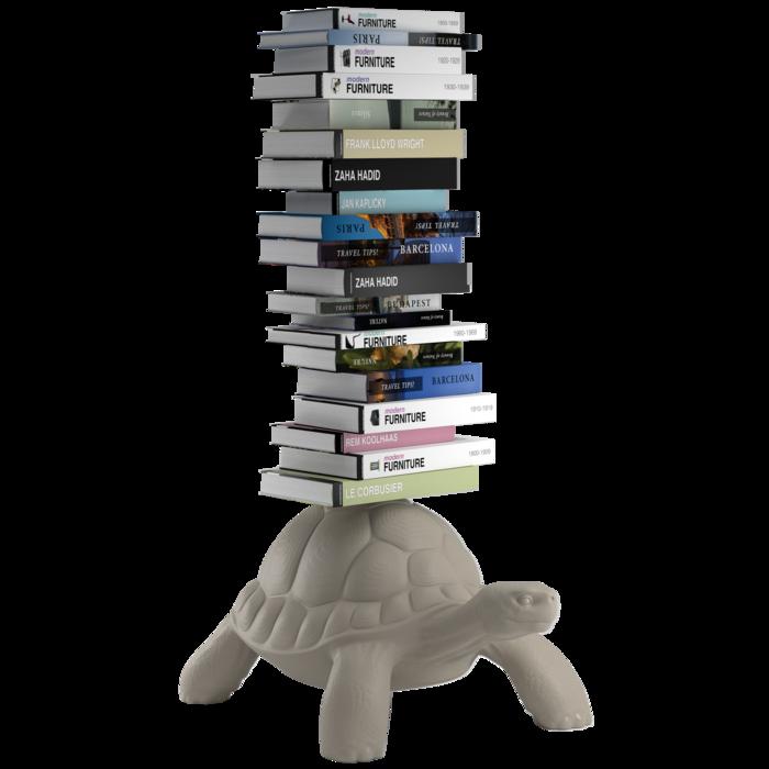 Qeeboo (RU) Библиотека TURTLE CARRY от итальянского бренда Qeeboo