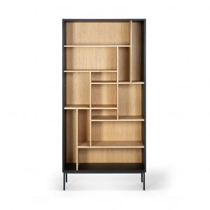 Книжный шкаф Oak Blackbird rack от бельгийского бренда Ethnicraft