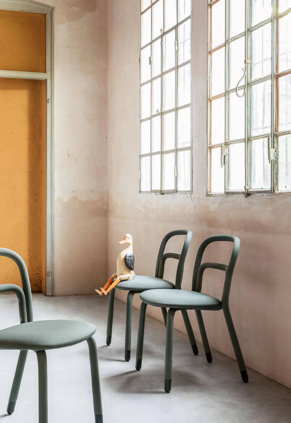 Midj (RU) Обеденный стул Pippi S R_TS от итальянского производителя Midj