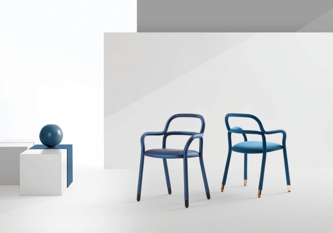 Midj (RU) Обеденный стул Pippi P R_TS от итальянского бренда Midj
