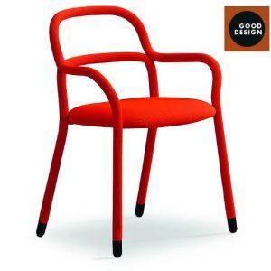 Обеденный стул Pippi P R_TS от итальянского бренда Midj
