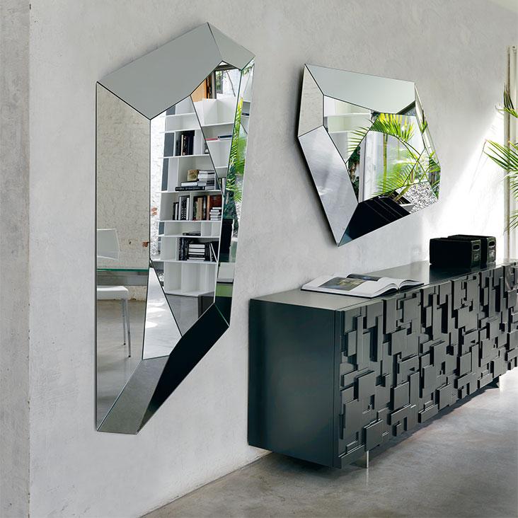 Cattelan Italia (RU) Настенное зеркало Diamond от итальянского бренда Cattelan Italia