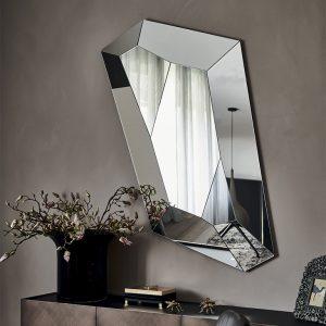 Настенное зеркало Diamond от итальянского бренда Cattelan Italia