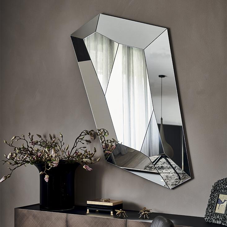 Cattelan Italia Настенное зеркало Diamond от итальянского бренда Cattelan Italia