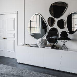 Настенное зеркало Hawaii от итальянского бренда Cattelan Italia