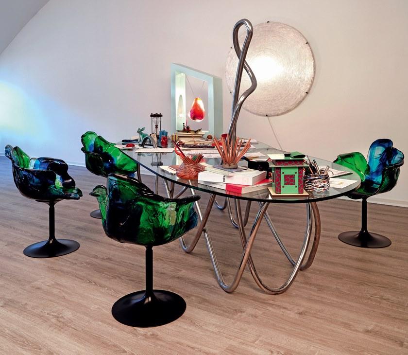 дизайнерские обеденные столы